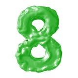 Зеленый цвет молока 8 Стоковое Фото