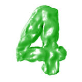 Зеленый цвет молока 4 Стоковые Изображения