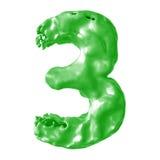 Зеленый цвет молока 3 Стоковые Изображения RF