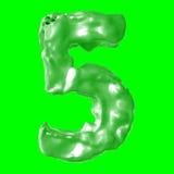 Зеленый цвет молока 5 Стоковое Изображение