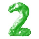 Зеленый цвет молока 2 Стоковое Изображение