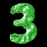 Зеленый цвет молока 3 Стоковое Изображение RF