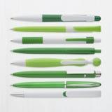 Зеленый цвет пишет собрание, с путем PS Стоковые Изображения