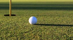 Зеленый цвет поля для гольфа Стоковые Изображения RF