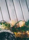 Зеленый цвет: Предпосылка партии отраженного St. Patrick шарика диско Стоковое Фото
