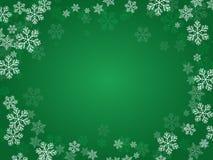 Зеленый цвет предпосылки рождества Стоковое Фото