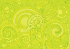 зеленый цвет предпосылки флористический Стоковое Изображение RF