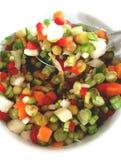 Зеленый цвет салата Стоковое Изображение RF