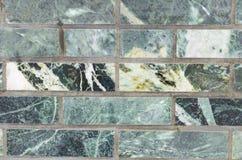 Зеленый цвет стены малахита для фона Стоковые Фотографии RF