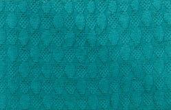 Зеленый цвет текстурировал связанную предпосылку Стоковая Фотография