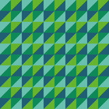 Зеленый цвет треугольника полигона вектора картины безшовный Стоковые Изображения RF