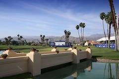 Зеленый цвет установки на воодушевленности АНАА играет в гольф турнир 2015 Стоковые Изображения RF