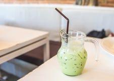 Зеленый цвет льда Стоковое Изображение