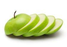 зеленый цвет яблока свежий Стоковые Изображения RF