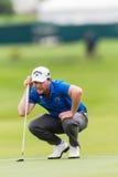 Зеленый цвет Branden Грейса гольфа профессиональный Стоковое Фото