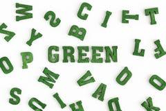 Зеленый цвет III Стоковое Фото