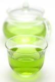 зеленый чай льда Стоковое Фото