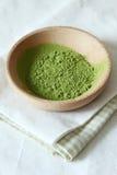 Зеленый чай matcha Стоковое фото RF