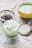 зеленый чай matcha Стоковая Фотография RF
