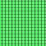 Зеленый черный дизайн ткани squre проверки Стоковое фото RF