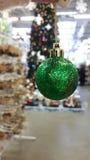 Зеленый шарик Стоковые Изображения RF