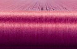 Зеленый шелк на снуя тени текстильной фабрики Стоковые Изображения RF