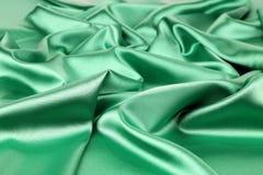 Зеленый шелк Стоковое Изображение RF
