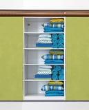 Зеленый шкаф Стоковое фото RF
