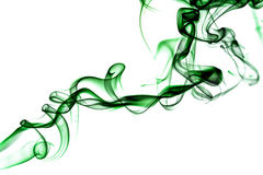 зеленый дым Стоковые Фото