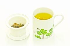 зеленый японский чай Стоковые Фото