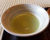 зеленый японский чай Стоковые Изображения