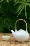 зеленый японский чай Стоковые Изображения RF