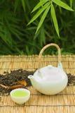 зеленый японский чай Стоковое фото RF