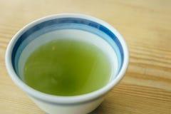зеленый японский чай Стоковое Изображение