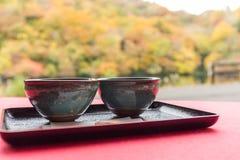 зеленый японский чай Стоковая Фотография RF