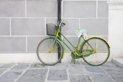 Зеленый bike Стоковое Изображение