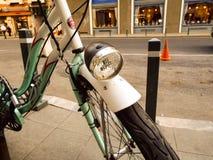 Зеленый bike Стоковая Фотография