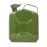 Зеленый jerrycan Стоковое Изображение