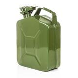 Зеленый jerrycan Стоковая Фотография