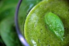 Зеленый smoothie Стоковая Фотография