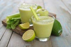 Зеленый smoothie Стоковые Фотографии RF
