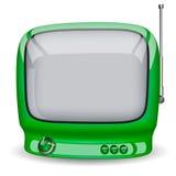 зеленый tv Стоковые Фото