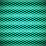 Зеленым безшовным пефорированная кругом текстура решетки Стоковые Изображения