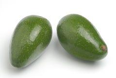 2 зеленых авокадоа Стоковая Фотография RF