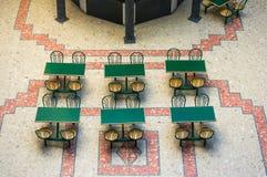 6 зеленых таблиц Стоковое фото RF