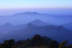 зига горы ландшафта Стоковое Изображение
