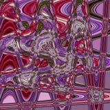 Зигзаги гренадина и красного цвета и blured капельки акварели бесплатная иллюстрация