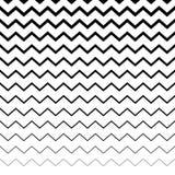 Зигзаг, волнистая картина линий сложной формы Горизонтально repeatable g иллюстрация штока