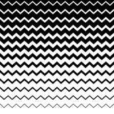 Зигзаг, волнистая картина линий сложной формы Горизонтально repeatable g Стоковое Изображение RF