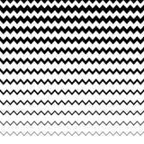 Зигзаг, волнистая картина линий сложной формы Горизонтально repeatable g Стоковые Изображения